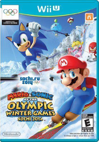 Mario & Sonic at the Sochi 2014 Olympic Winter Games - Nintendo Wii U by Nintendo,