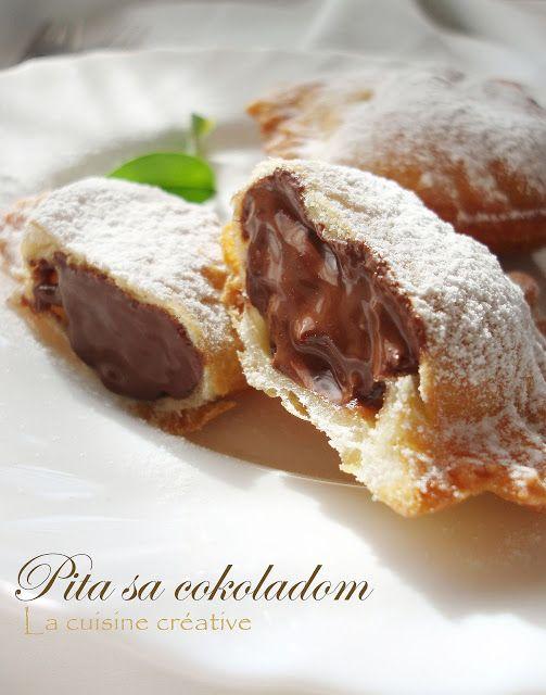 La cuisine creative: Pita sa čokoladom