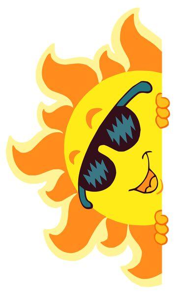 Transparent Smiling Sun Decoration PNG Clipart Picture