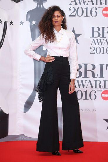Le tapis rouge des Brit Awards 2016-----Aluna Francis
