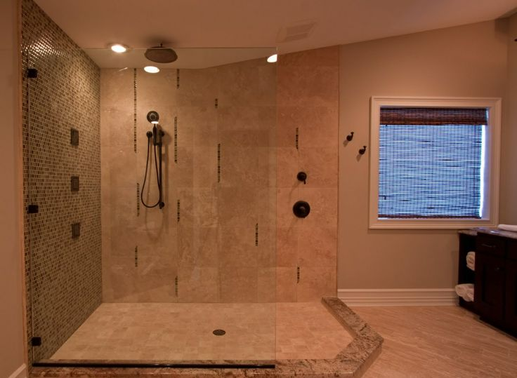 Bathroom Tile Design Ideas For Big Bathrooms ~ Bathroom remodeling must haves large walk in shower