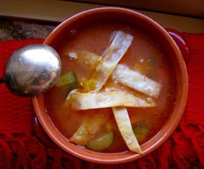 Christina's Cucina: Christina's Quick and Easy Tortilla Soup