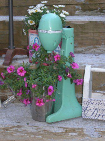 Garden Art From Junk Upcycling Repurposed