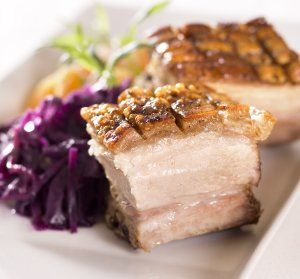 Christmas pork ribs (juleribbe)