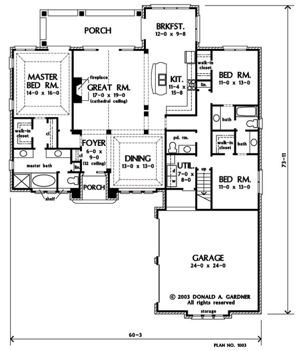 49 best House plans images on Pinterest | Architecture, House ...