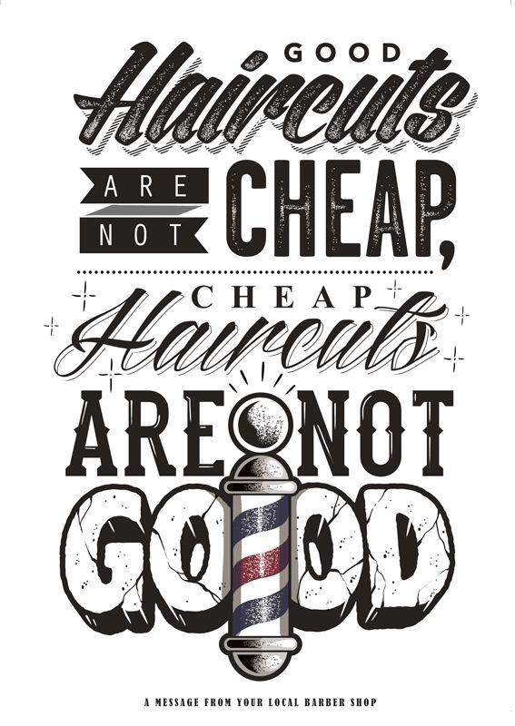 GOOD CUTS by Dale Bigeni, via Behance