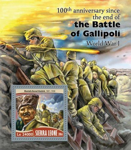 SRL16715b 100th anniversary since the end of the Battle of Gallipoli (Mustafa Kemal Atatürk (1881–1938))