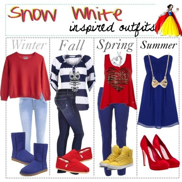 Snow White inspired outfits