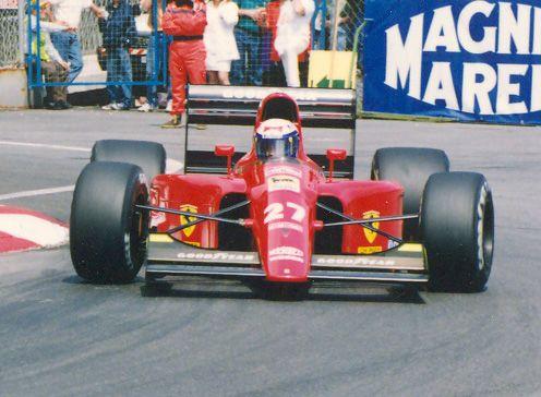 Alain Prost, 1991 Ferrari