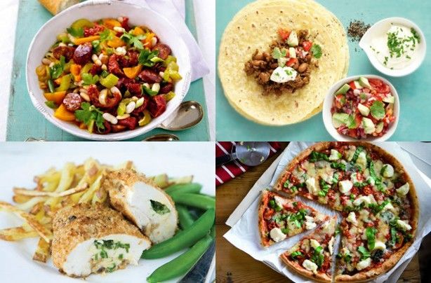 150 family dinners under 500 calories