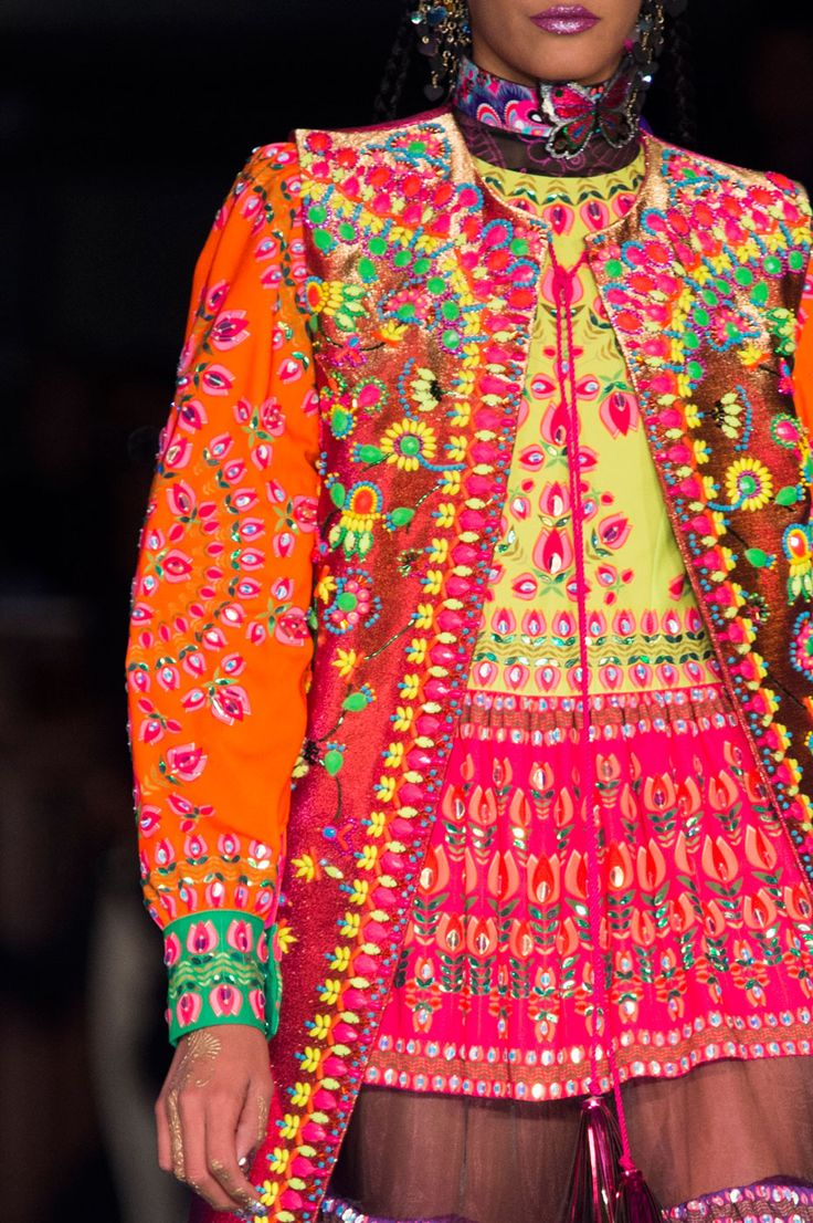 Manish Arora Women Spring Summer 2016 #PFW