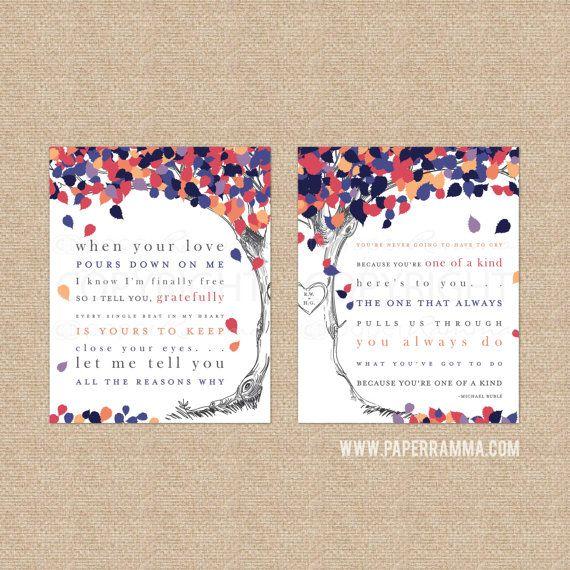 Wedding Song Artwork First Dance Lyrics Anniversary by PaperRamma
