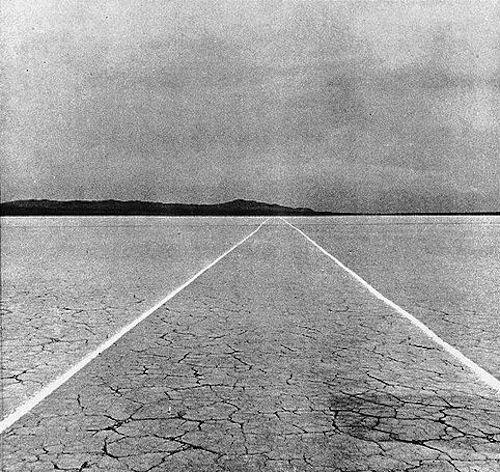 mile long drawing - 1968 - walter de maria