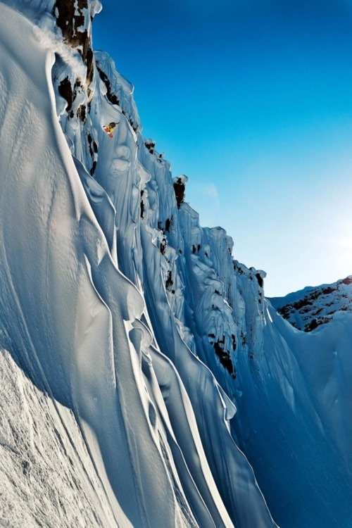 Sports: Extreme FREEride snowboarding #winter #snow