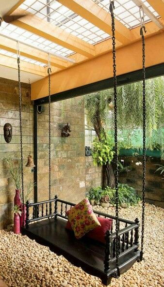 Earthy Common Area Indian Home DecorRustic