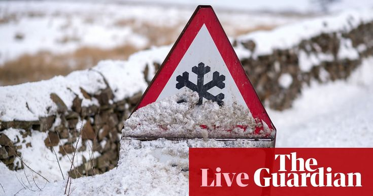 Weather warnings remain in place across the UK, but a thaw will begin across south-west England as warmer air starts to arrive