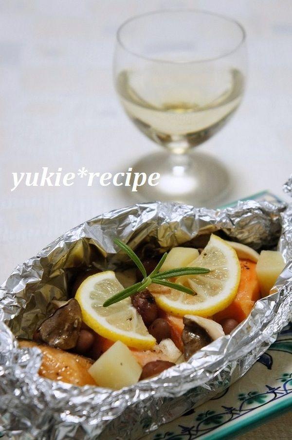 鮭とお芋のホイル焼き by 磯村優貴恵 | レシピサイト「Nadia ...