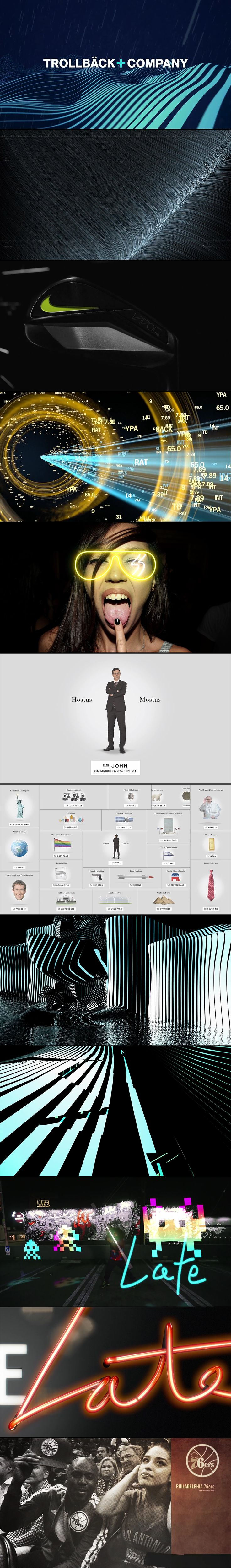 Trollbäck + Company: Motion Graphics update - cherryhill                                                                                                                                                     More