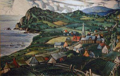 L'Anse aux Gascons (c.1942) - Marc-Aurèle Fortin