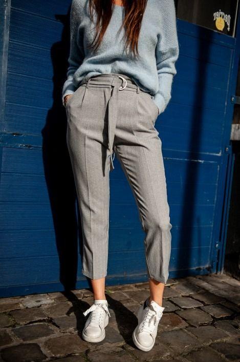 A Pantalon 2019Pantalons Pinterest En Capri Carreaux Gris UzMqGSpV