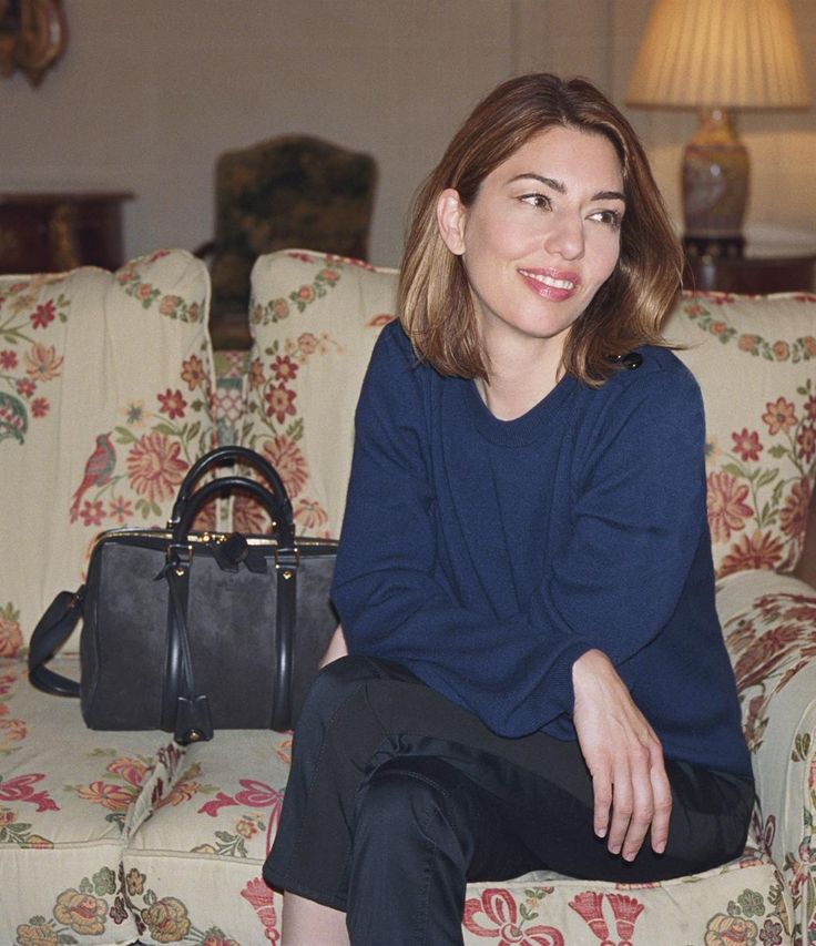 Sofia Coppola...... A close friend of Louis Vuitton's then-creative director Marc Jacobs, Sofia Coppola's namesake bag by the French house happened by accident. It's said she visited the LV workshop in 2007 with the intention of placing an order but instead ended up designer her own perfect holdall - and the 'SC' bag was born