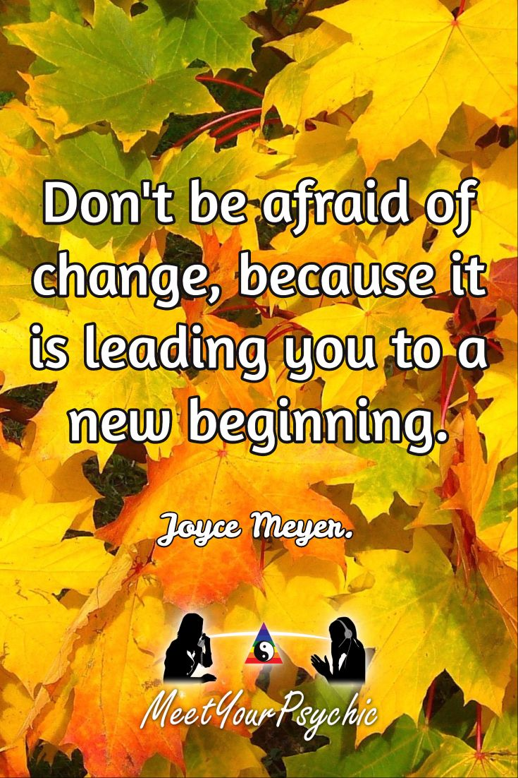 Dont Be Afraid Of Change Quotes New Beginning Joyce Meyers: Best 25+ Afraid Of Love Ideas On Pinterest
