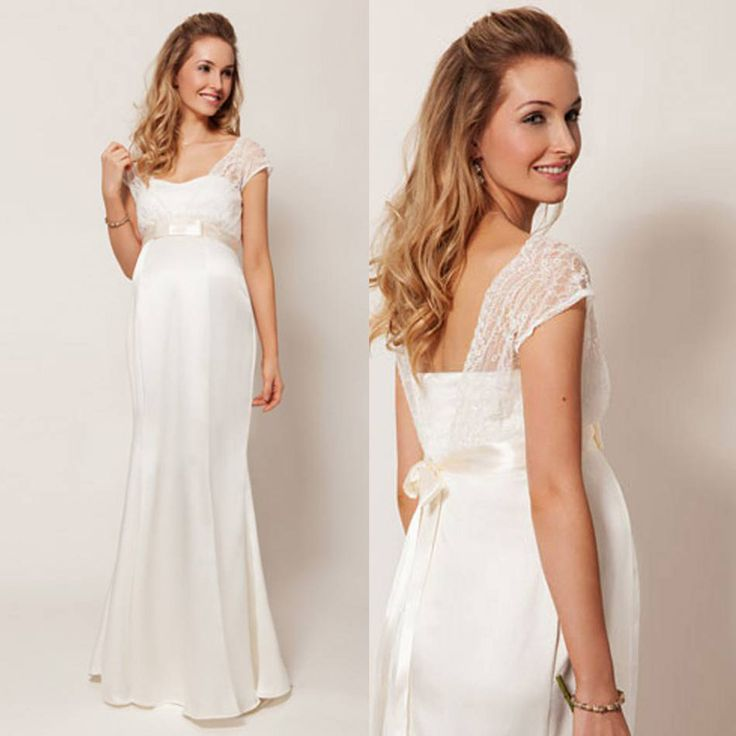 Ivory lace wedding dresses for pregnant women plus size Long wedding Gowns New Arrival sexy Sweetheart vestido de noiva