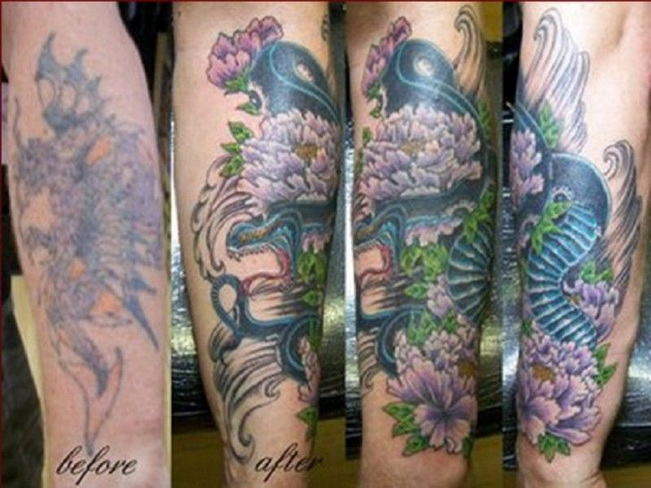 Forearm Cover Up Tattoo Ideas ~ http://tattooeve.com/cover-up-tattoo-ideas/ Tattoo Ideas