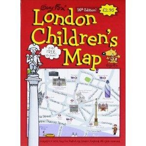 Guy Fox London Children's Map