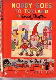 Noddy books by Enid Blyton - an essential part of a South African childhood. We even listened to him on the radio.