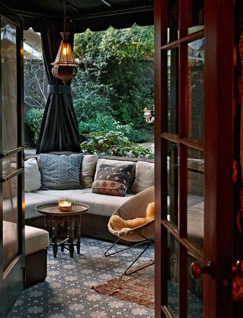 outside space for cosy evenings