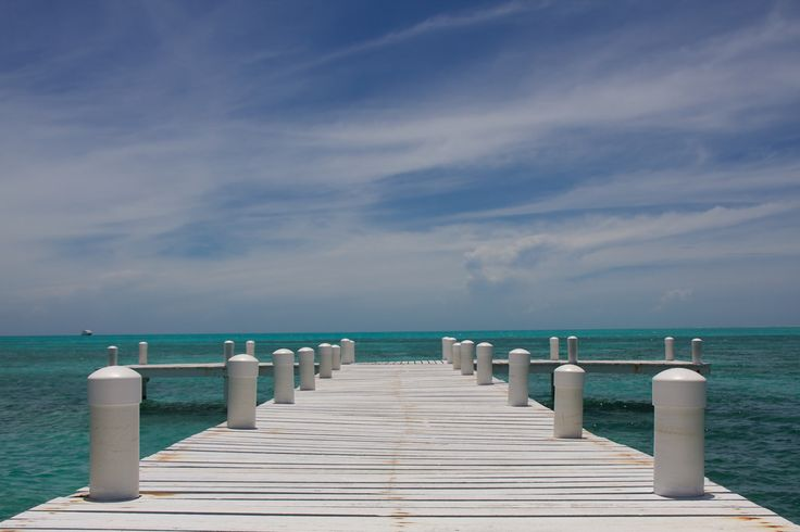https://flic.kr/p/8ermDX | Belizian Pier of Paradise | A pier out into the perfect waters of Belize. Beautiful country, beautiful people