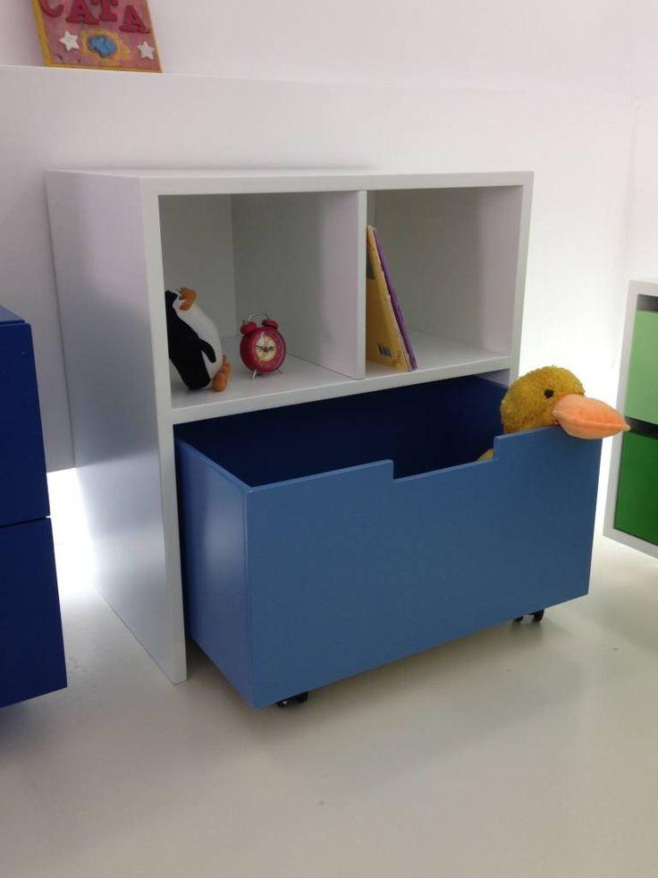 17 mejores ideas sobre muebles para ni os en pinterest - Ideas almacenaje juguetes ...