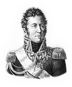 Jacques Jean Alexandre Bernard Law, marquis de Lauriston est un militaire, diplomate et homme politique français, né le 1er février 1768 à Pondichéry dans les Indes françaises, et mort le 11 juin 1828 à Paris. Il devient successivement général de division en 1805, comte de l'Empire en 1808, ambassadeur de France en Russie en 1811, marquis de Lauriston en 1817, maréchal de France en 1823 et ministre d'État en 1824. Il est par ailleurs élu en 1822 à l'Institut de France (Académie des…
