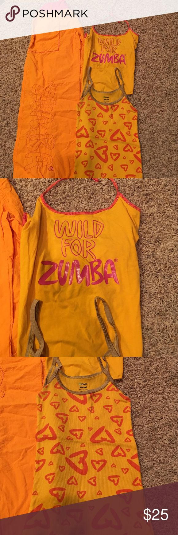 T-shirt design for zumba - Zumba Outfit Pants 2 Tops