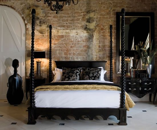 #TuesdayTip A Four Poster #bed Will Take The Chill Out Of A Modern