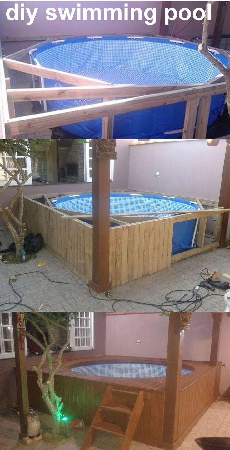 Las 25 mejores ideas sobre piscinas intex en pinterest for Piletas infantiles intex