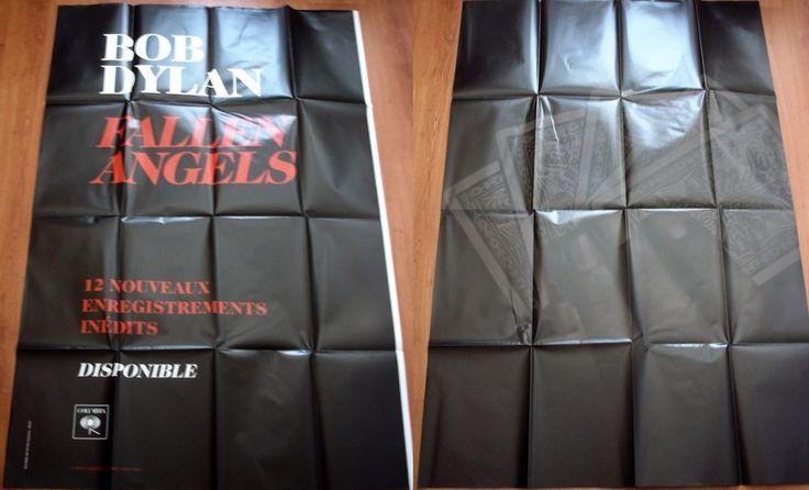 BOB DYLAN Fallen Angels 2016 ORIGINAL FRENCH POSTER 200cm x 150cm