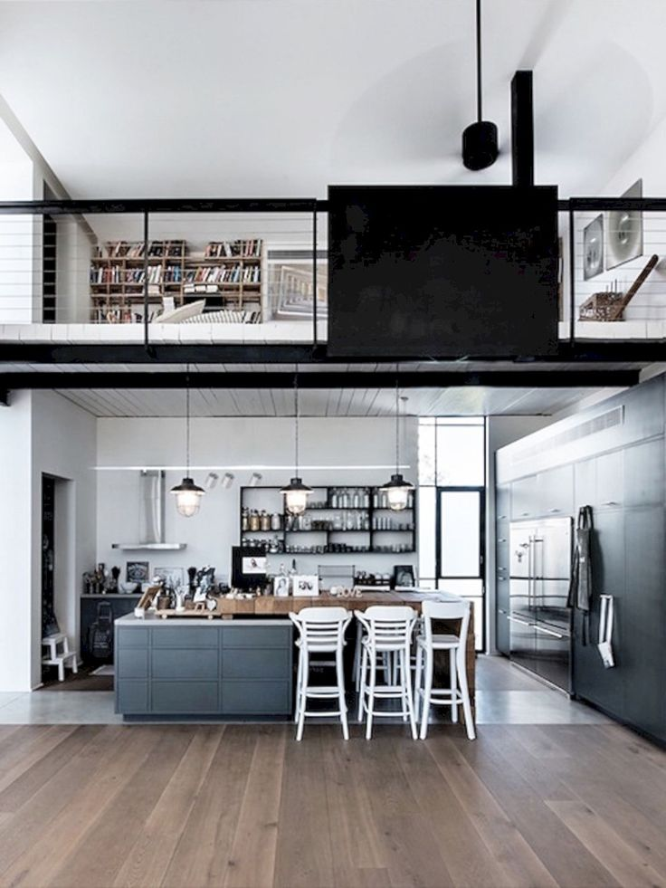 25 best ideas about garage apartment interior on for Beautiful garage interiors