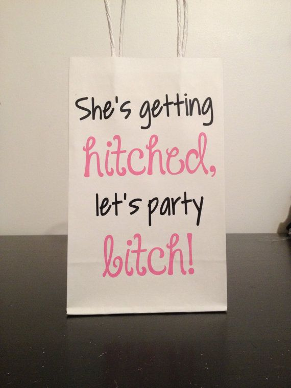 Bachelor/Bachelorette Party Hangover Kit Bags by hintofeverything, $1.25