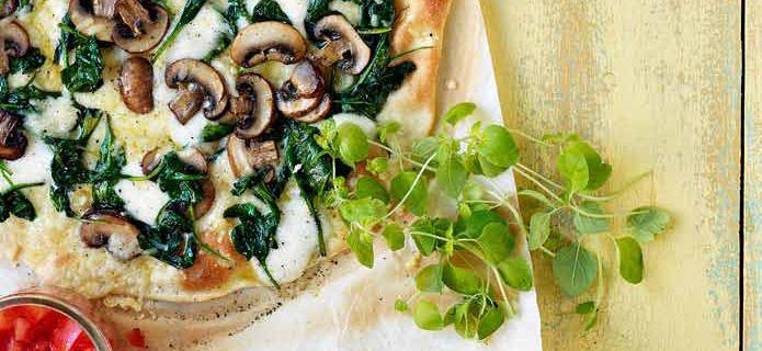 Hemkop.se | Pizza bianca med salsa