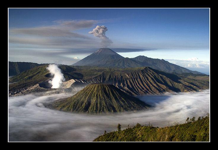 Bromo mountain..