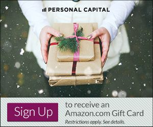 A Free Personal Capital Account + $20 Amazon Gift Card = Awesome!