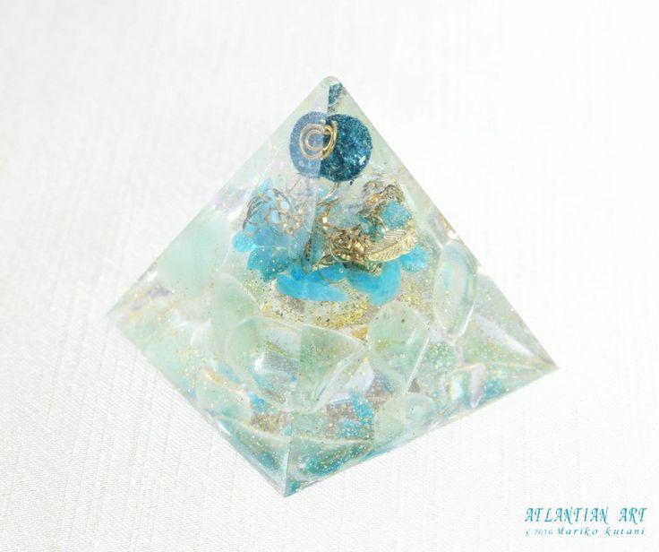 新作オルゴナイト♪ ATLANTIAN ART~天然石アクセサリー・点画・オルゴナイト