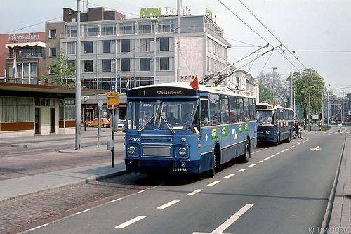 Arnhem, Stationsplein, 1980