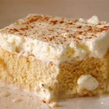 This gluten free tres leches cake is simply superb. We had a non-gluten free customer say it was the best tres leches they had ever had.