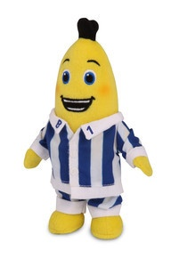 Bananas In Pyjamas 17cm Beanie Plush  Toy. All new Bananas in Pyjamas 17cm beanie toy that your child is sure to love! $14.99