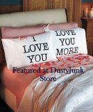 Romantic Christmas Gifts For Girlfriend: Show Your Love And Care - Love You & Love You More Pillowcases