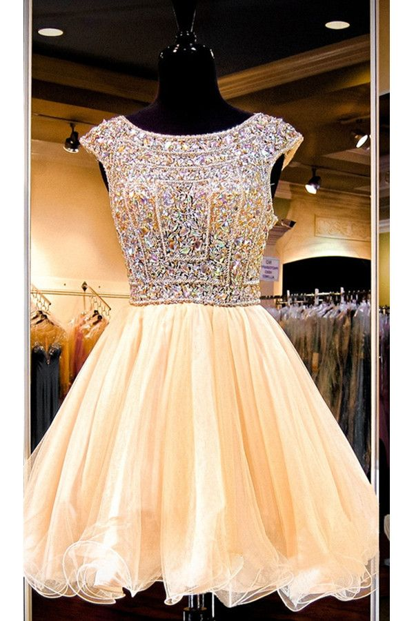Sparkly Gorgeous Beaded Homecoming Dresses,Formal Homecoming Dress http://www.luulla.com/product/620372/saprkly-gorgeous-beaded-homecoming-dresses-formal-homecoming-dress