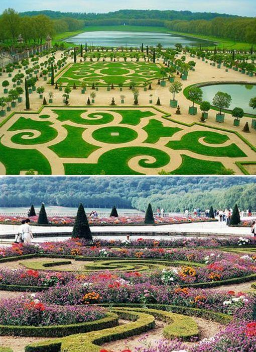 El Jardín  de Versalles – Francia